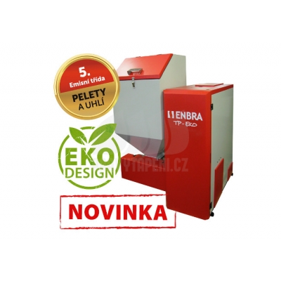 Kotel na tuhá paliva ENBRA TP-EKO PELLET 32 9,6 - 32 kW