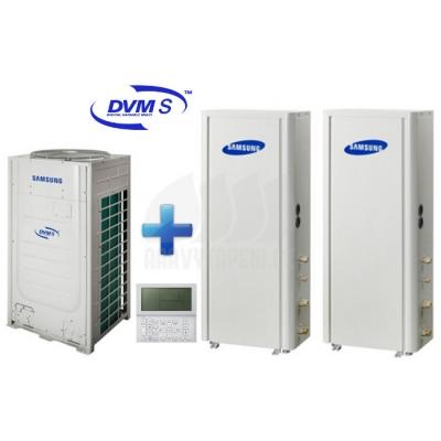 Vysokoteplotní čerpadlo SAMSUNG DVM S 3f Tier Standard 37,8 kW + DVM S Hydro 2x16,0 kW