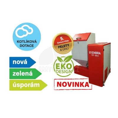 Kotel na tuhá paliva ENBRA TP-EKO 25 7,5 - 25kW