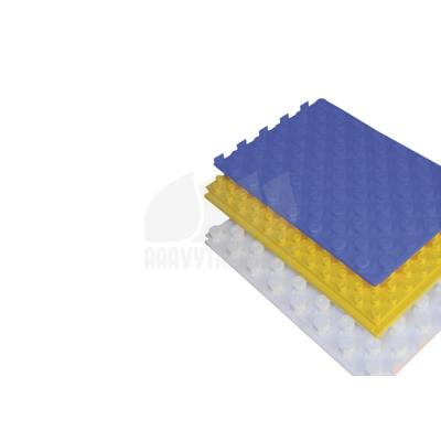 Polystyrenová deska s výstupky-černá a FÓLIÍ
